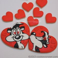Pepe le Peu (Heart Cookie Cutter)