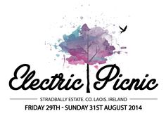 Electric Picnic is an annual arts and music festival which has been staged since 2004 and from then on there has been a sharp rise in popularity for the festival. It is hosted in County Laois, Irel. Irish Festival, Art Festival, Festival List, Ep Logo, Art Assignments, Electric House, Win Tickets, Dublin Ireland, Cheer Up