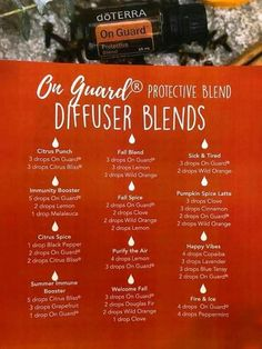 doterra on guard diffuser blends On Guard Essential Oil, Essential Oil Uses, Doterra Essential Oils, Doterra Blends, On Guard Öl, Essential Oil Combinations, Essential Oil Diffuser Blends, Osho, Diffuser Recipes