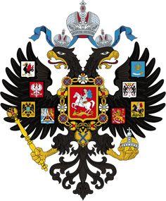 het familiewapen van de familie Romanov