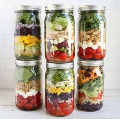 Really loving @befitsnacks way of changing up meals on the go! Mason jars aren't just for smoothies and oats but a great way to prep full meals too. I also love that they are glass, much safer than most plastics.