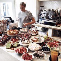 Pluk Sweetcorner, Pluk Amsterdam, Pluk food, Pie, Sweets