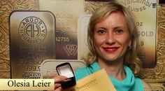Olesya Leyer e la sua Spilla di Swissgolden