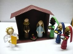 Presepe in quilling