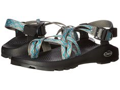 Enjoy stability and increased grip on trails or in water with Chaco Unaweep sandals. Choose from various colors and patterns in our Chaco collection. Blue Sandals, Blue Shoes, Shoes Sandals, Chaco Shoes, Chaco Sandals, Comfy Walking Shoes, Discount Shoes, Platform, Shoe Bag
