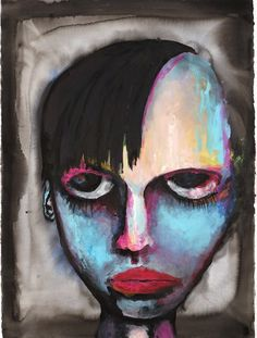self-portrait by Marilyn Manson