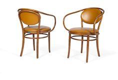 Thonet Bistro Chairs, Pair