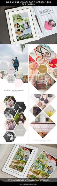Stylishly transform marketing materials, prints and canvases with our hot new Geo Modern Blog & Print Layouts from Design Aglow http://www.designaglowshop.com/products/blog-print-layouts-geo-modern?utm_content=buffer56d40&utm_medium=social&utm_source=pinterest.com&utm_campaign=buffer
