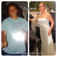 Weight Loss Story of the Day: Cuorée (Cuore-e) lost 80 pounds, going from a size 22 to a size 12. This proud teacher faced weight gain at a young age and began her weight loss journey while in college.  Over the years she's been able to not only learn what works for her in terms of eating and exercising, but also inspire others.