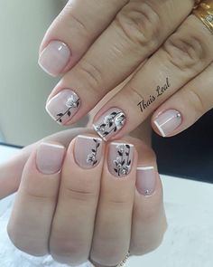 French Manicure Nails, French Nails, Manicure And Pedicure, Best Acrylic Nails, Gel Nail Art, Hair And Nails, My Nails, Glitter Gel Nails, Pretty Nail Art