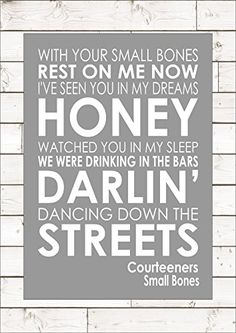 SMALL BONES - COURTEENERS Lyric Lyrics A3 (42cm x 29.7cm)... https://www.amazon.co.uk/dp/B01M2662SY/ref=cm_sw_r_pi_dp_x_oN-kybV8SG2EN