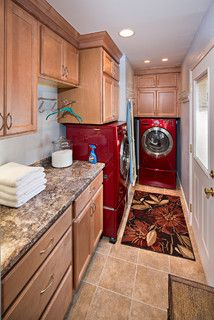 Using This Idea I Could Turn The Current Bathroom Into A Similar Laundry Room Since Is Long And Narrow Like One Move