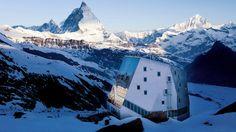 Monte Rosa Hut - Switzerland Tourism
