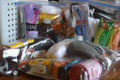 You are here: Home / Faith / Help for the Homeless: Goody Bags with Treats & Personal Care Items