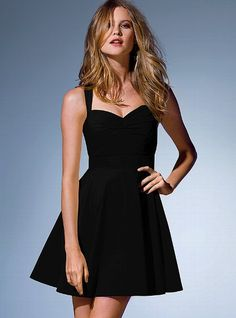 Cross-back Sundress - Victoria's Secret