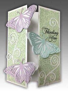 Belíssimo com borboletas