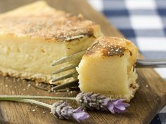 It's World Baking Day today and Reuben Riffel shares with us his traditional South African Milk Tart recipe. Catch Reuben live cooking demonstrations at Custard Recipes, Tart Recipes, My Recipes, Cooking Recipes, Cheese Recipes, Recipies, Pudding Desserts, No Bake Desserts, Dessert Recipes