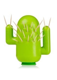 Cactus Toothpick Holder - so cute!