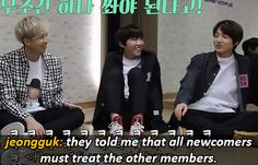 bts on jeongguk's fetus hairstyle and the days when he could be bullied. (6/6)