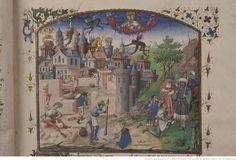 La Cité de Dieu de saint Augustin, traduite en français par Raoul de Presles.