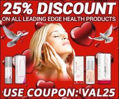 25% discount code on beauty and health deals!