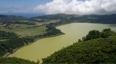 The crater lake of Furnas in Sao Miguel, Azores, Portugal (photo AN w/N8)