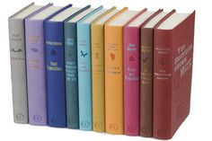 Cool decoration - a bunch of Canterbury Classics bound books!!!