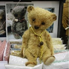 EPattern to make a big Old Joy bear in PDF by theoldpincushion, $19.00