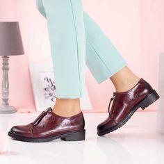 Pantofi casual dama visinii Harizo