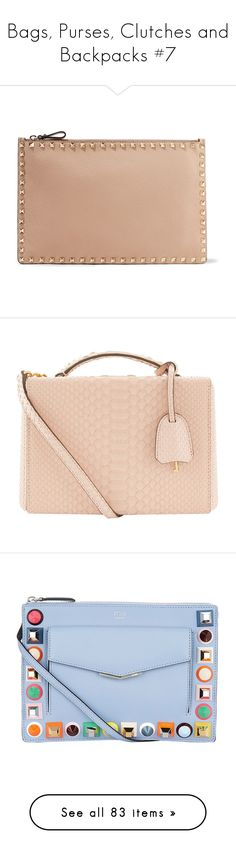 """Bags, Purses, Clutches and Backpacks #7"" by webuildbridgesnotwalls ❤ liked on Polyvore featuring bags, handbags, clutches, blush, zipper tote, zip tote, zipper pouch, oversized tote bags, tote purses and shoulder bags"