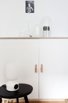 Glassware and the Plug Lamp - cocolapinedesign.com