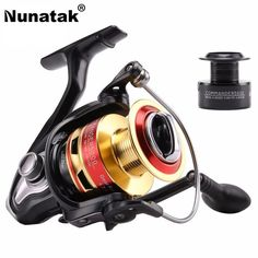 Nunatak  5.2:1/4.7:1 COMMANDER2000 3000 4000 5000 Spinning Fishing Reel 10BB Spinning Wheel Fishing Tackle +1P Free Spare Spool #Affiliate