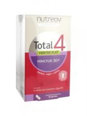 Nutreov Total 4 Flat Stomach 3D Slimness 2 x 30 Capsules
