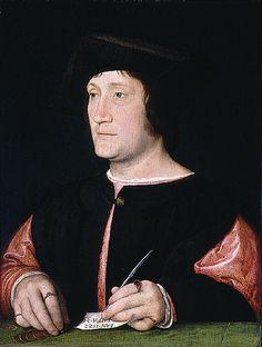 Portrait d'un Banquier - Jean Clouet - 1522 - St-Louis Art Museum
