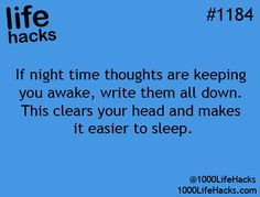 That's a great idea. And it will help younto remember stuff that never seems to enter your thoughts until you're trying to fall asleep lol.