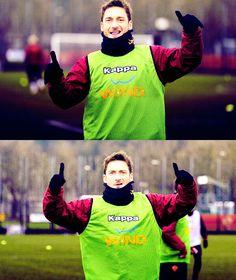 Francesco Totti, AS Roma.