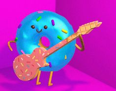 """Check out new work on my @Behance portfolio: """"donut"""" http://be.net/gallery/44370977/donut"""