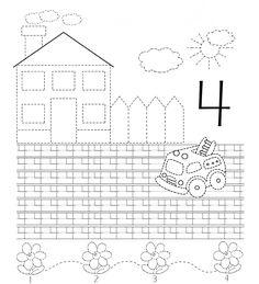 Planse de colorat educationale pentru dezvoltarea prescolarului in sfera matematicii, aceste planse ajuta copilul sa-si dezvolte abilitatil... Pre K Worksheets, Preschool Worksheets, Kindergarten Activities, Toddler Learning, Fun Learning, Prewriting Skills, Preschool Writing, Educational Crafts, Second Grade Math