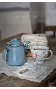 Arbatos puodelis Simone white - SimpleHomes