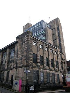 Glasgow School of Art - Mackintosh