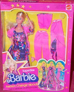 Superstar Barbie Fashion Change Abouts Set 2583 1977
