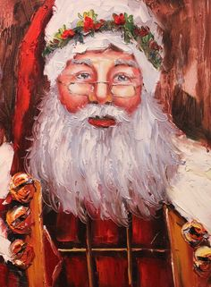 Winter is coming! And that means Christmas is coming too!! :) Don't miss out on a chance to add to your holiday decorations with a hand painted oil painting of Santa!! We have many different Santas, one holding the naughty or nice list, one holding a bag of toys over his back, one sitting by a fireplace & more!! These are too darling not to have for the holidays! Claim yours from Art Outlet now!! Visit our website www.artoutletwoodlands.com