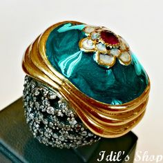 Authentic Turkish Ottoman Style Handmade 925 Sterling by IdilsShop, $150.00