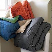 St. Tropez® Lightweight Solid Reversible Down Comforter / Duvet