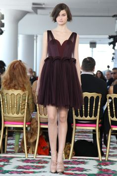 Delpozo Fall 2013 Ready-To-Wear Collection.