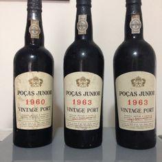 Poças Junior Vintage Port Wine 1960, 1963