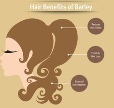 The #haircare #Benefits of #eating #barley! @eater @tastemade @HuffPostCaLiv Barley Nutrition, Health And Nutrition, Barley Benefits, Hair Vitamins, Hair Care, Hair Color, Eat, Vitamins For Hair, Haircolor