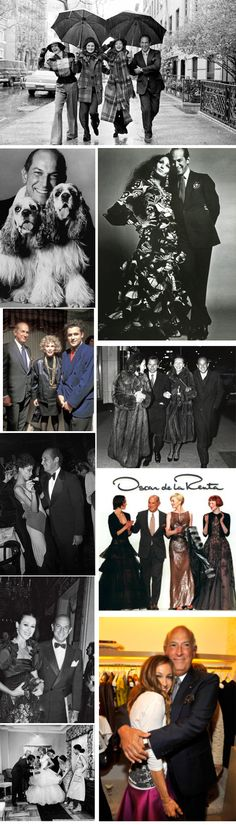 Oscar de la Renta and friends