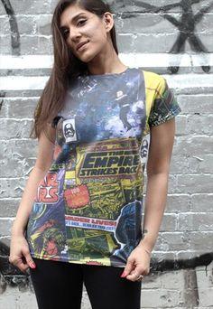 Star Wars 'CC Tiles AOP' Ladies T-shirt