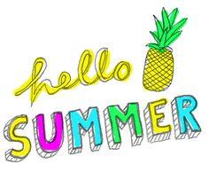 Ausmalbild Für Erwachsene Ananas Hello Summer Summer In The
